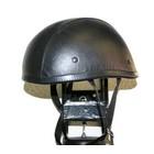 【MOTOBLUEZ】[Large Size] 獨創裝飾用皮革半罩安全帽(Eagle)