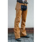 【MOTOBLUEZ】【HEAVY RED LABEL】 牛油皮低腰Chaps(顏色:Tan)