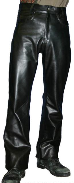 【HEAVY RED LABEL】 油皮靴型褲