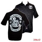 【MOTOBLUEZ】【HEAVY】Motobluez15周年原廠短袖工作衫(BORN TO BE MILD) (黑)