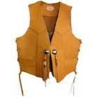 Motobluez [HEAVY] Glove Leather Vest B Tan