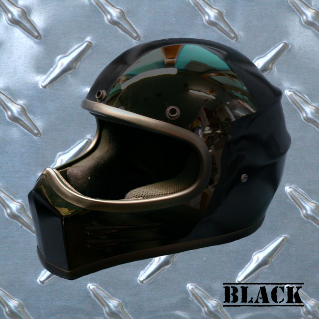 【HEAVY】Original裝飾用全罩式安全帽「XXX」黑
