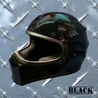 【MOTOBLUEZ】【HEAVY】Original裝飾用全罩式安全帽「XXX」黑
