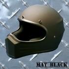 【MOTOBLUEZ】【HEAVY】Original裝飾用全罩式安全帽「XXX」霧面・ 黑
