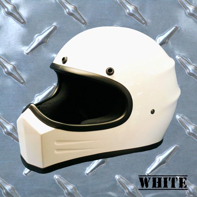 【HEAVY】Original裝飾用全罩式安全帽「XXX」白