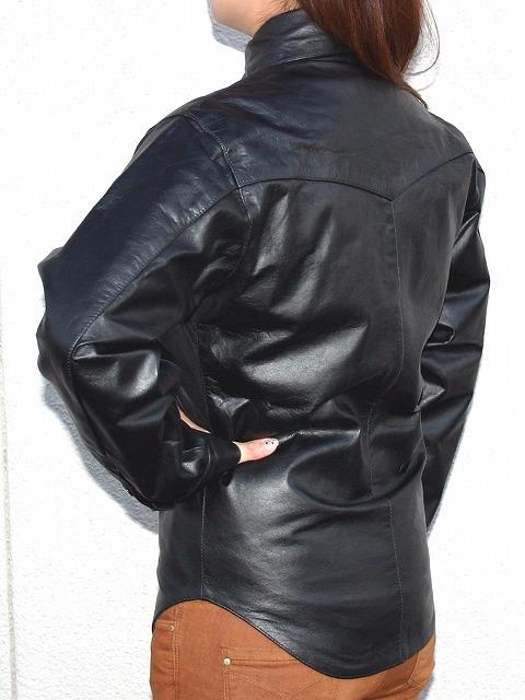 【MOTOBLUEZ】【HEAVY RED LABEL】女用水牛皮革襯衫(Buffalo Snap) - 「Webike-摩托百貨」