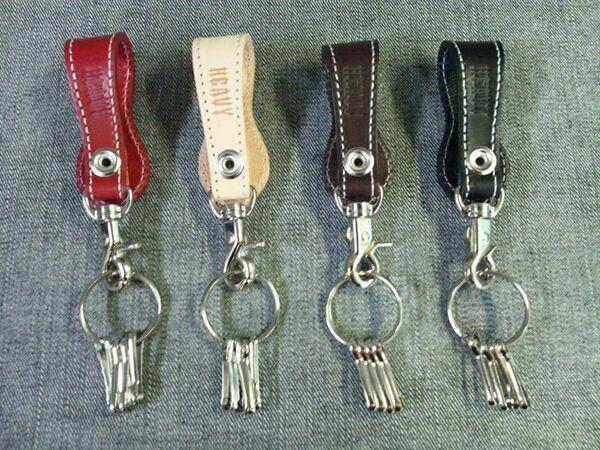 【MOTOBLUEZ】【HEAVY】皮革鑰匙圈・Indian Concho - 「Webike-摩托百貨」