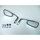 【RISE CORPORATION】(電鍍)角型壓印墊板後視鏡(10mm)