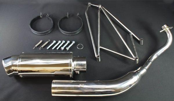 Pushing-up 加厚 不銹鋼 全段排氣管