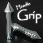 【RISE CORPORATION】鋁合金 電鍍握把套 狹長型