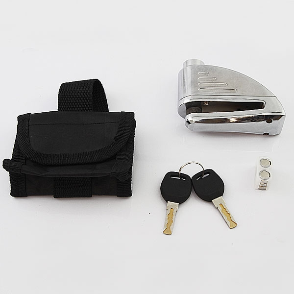 摩托車防盜用 大音量110db 警報碟盤鎖