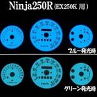 【RISE CORPORATION】Ninja250R用儀表板發光片