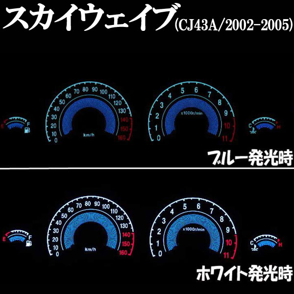 EL 儀錶面板 (Skywave CJ43A/2002-2005年用)