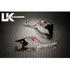 U-KANAYA Short Wheel typeAluminum Billet leversSet [ KLX 125 / D - TRACKER 125 [D + Lacquer 125] Only]