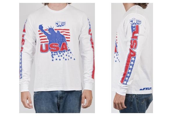 【男用 L/S T恤】 JT Liberty