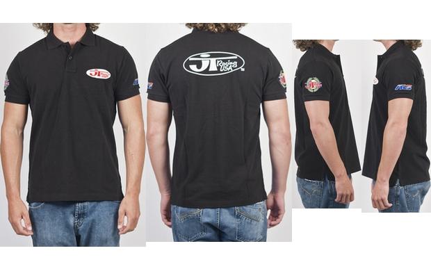 【JT Racing】【男用 Polo衫】 Oval Patch - 「Webike-摩托百貨」