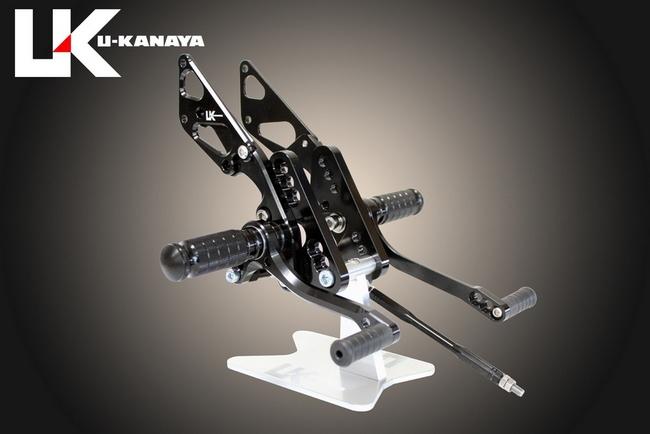 【U-KANAYA】6點安裝位置腳踏後移套件 [ZRX1100 : ZRX1200 : ZRX1200DAEG 専用] - 「Webike-摩托百貨」