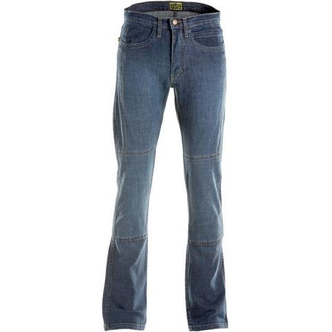 【AXO】Draggin Jeans 丹寧牛仔褲「BIKER 」付膝脛護具 - 「Webike-摩托百貨」
