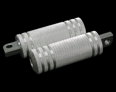 鋁合金5肋條腳踏桿 /大型 (黑色)