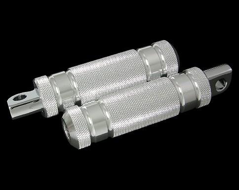 鋁合金4肋條腳踏桿 /小型 (黑色)