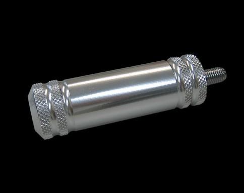 4-Rib 鋁合金 變速踏板 (1吋 長 黑色)