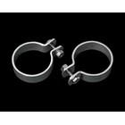 【Neofactory】2吋 排氣管固定夾(吊環)組套 (鍍鉻)