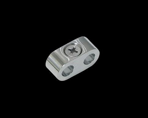 矽導線固定座 7mm (鍍鉻)