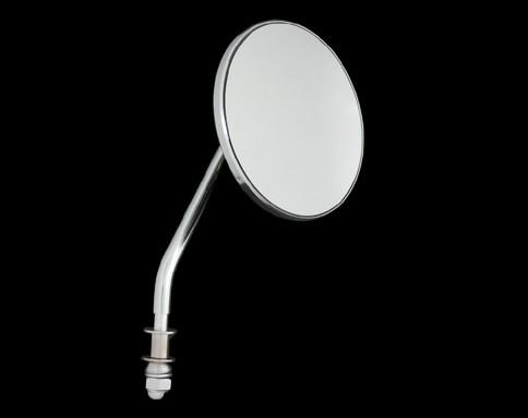【Neofactory】OEM柄型式4吋圓型後視鏡 (鍍鉻) 右用 - 「Webike-摩托百貨」