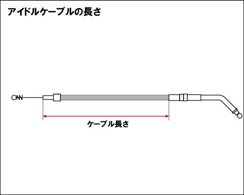 【Neofactory】37吋 怠速拉索45° (黑) - 「Webike-摩托百貨」