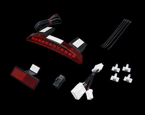 LED 後土除邊緣尾燈 (紅色)
