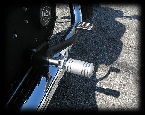 【Neofactory】短型 鋁合金5肋條腳踏桿 - 「Webike-摩托百貨」
