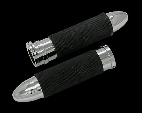 【Neofactory】Bullet握把套 鍍鉻 - 「Webike-摩托百貨」