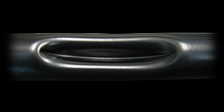 【Neofactory】有凹痕 Narrow  Ape  中位把手 黑 - 「Webike-摩托百貨」