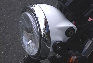 鑰匙頭燈外殼 (白色塑膠)