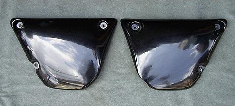 側蓋 Type 2 (黒色塑膠)