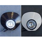 【OSCAR】頭燈罩組 4.5 Type A (白色塑膠)