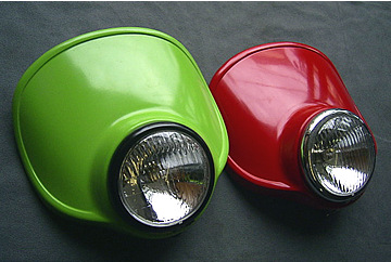 【OSCAR】頭燈罩組 4.5 Type C (黒色塑膠)/電鍍框 - 「Webike-摩托百貨」