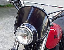 頭燈罩組 4.5 Type C (黒色塑膠)/電鍍框
