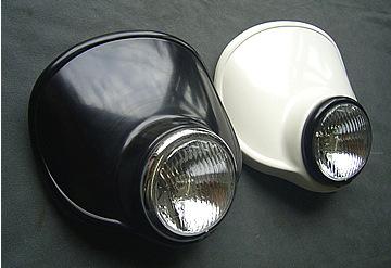 頭燈罩組 4.5 Type C (黒色塑膠)