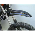 OSCAR Up typeFront fender black Gel