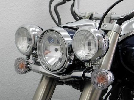輔助燈支架 (Sheet Metal 頭燈改裝用)