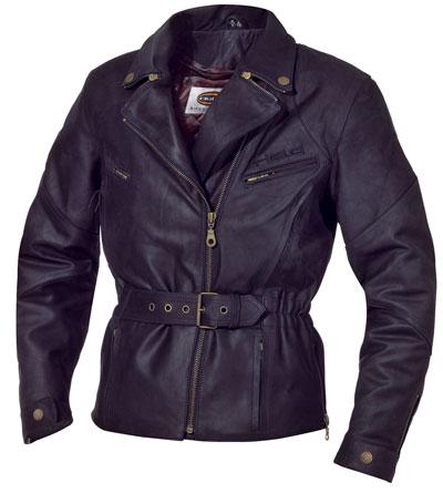 皮革騎士外套「SCULLY」