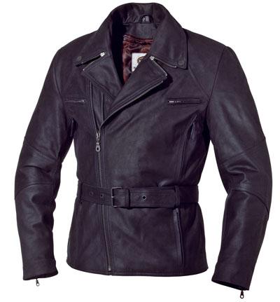 皮革騎士外套「MULDER」