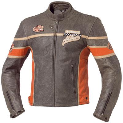 皮革騎士外套「ROCCO」