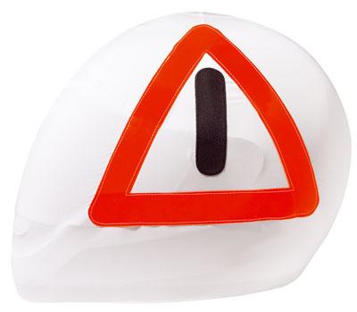 緊急用三角表示板「HELMBEUTEL/WARNDREIECK」