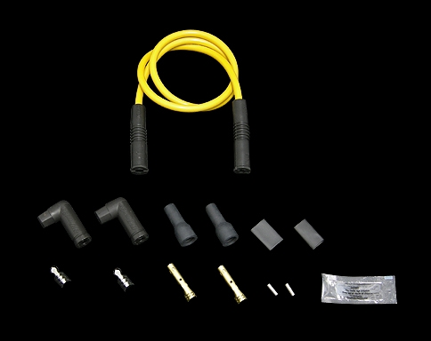 火星塞接頭含矽導線 8.8mm (通用型 可調整角度接頭)