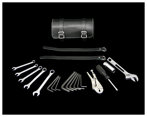 皮革工具防水包&工具組套 黑色 5/8吋・16mm Plug