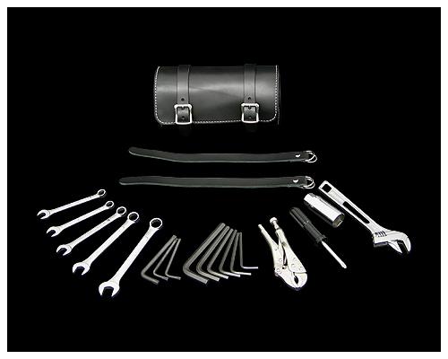 皮革工具防水包&工具組套 黑色 13/16吋・21mm Plug