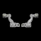 【Neofactory】原廠型 可調式腳踏桿支架組 (鍍鉻)