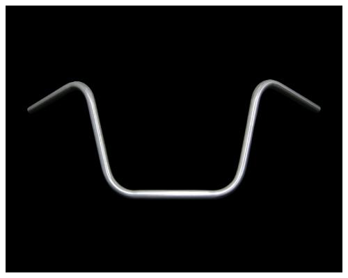 【Neofactory】 Ape 把手 無凹痕 未塗装 高位 - 「Webike-摩托百貨」